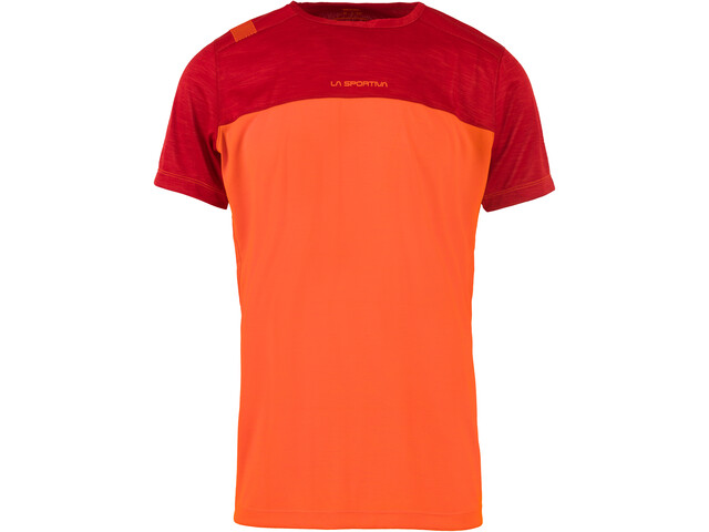 La Sportiva Crunch T-Shirt Homme, pumpkin/chili
